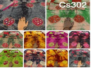 Batik cotton set of 10